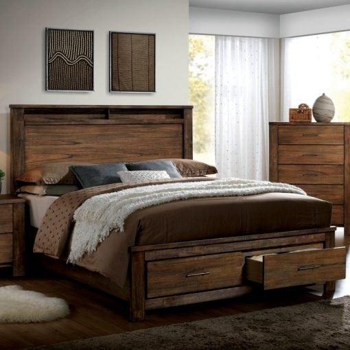 Tempat Tidur Rustic Berlaci