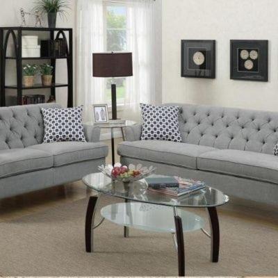 1 Set Kursi Tamu Sofa Modern