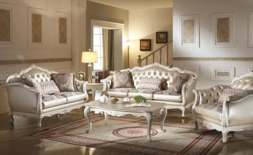 Satu Set Kursi Tamu Sofa Kuncen