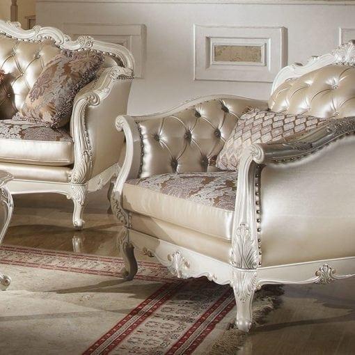 Satu Set Kursi Tamu Sofa Kuncen (2)
