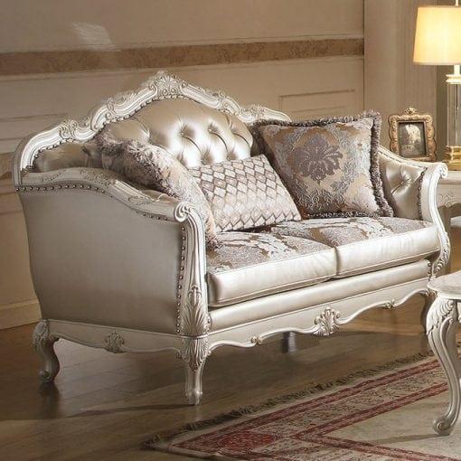 Satu Set Kursi Tamu Sofa Kuncen (3)
