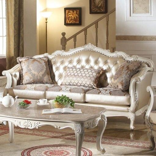 Satu Set Kursi Tamu Sofa Kuncen (4)