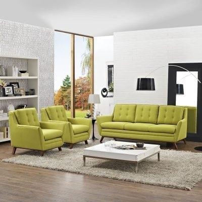Satu Set Kursi Tamu Sofa Modern