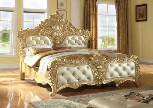 Tempat Tidur Mewah Ukiran