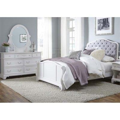 Tempat Tidur Perempuan Minimalis Set