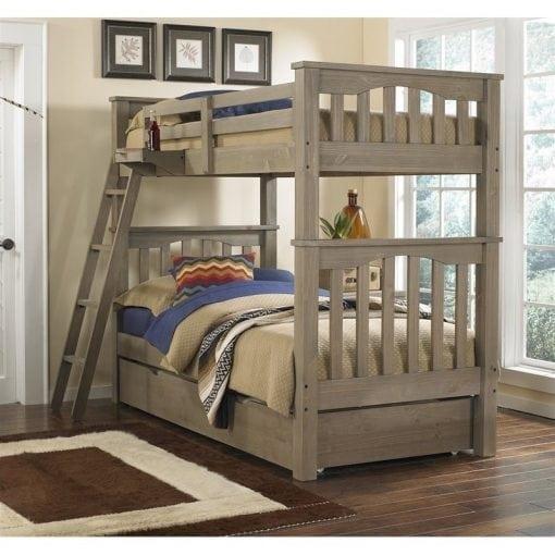 Tempat Tidur Tingkat Multifungsi