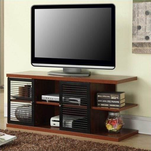 Bufet TV Jati Minimalis Modern