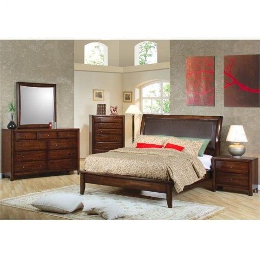 Kamar Tempat Tidur Jati Minimalis Set