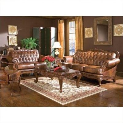 Satu Set Kursi Sofa Tamu Elegant