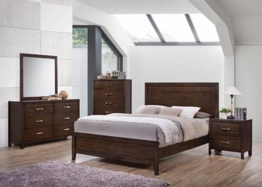 Satu Set Tempat Tidur Pengantin Terbaru