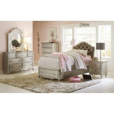 Set Kamar Tempat Tidur Anak Perempuan