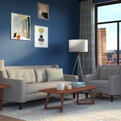 Set Kursi Tamu Sofa Unik