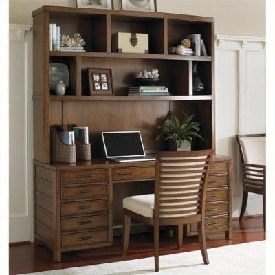 Set Meja Kantor Jati 1 Biro Multifungsi