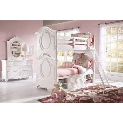Set Tempat Tidur Tingkat Anak Perempuan