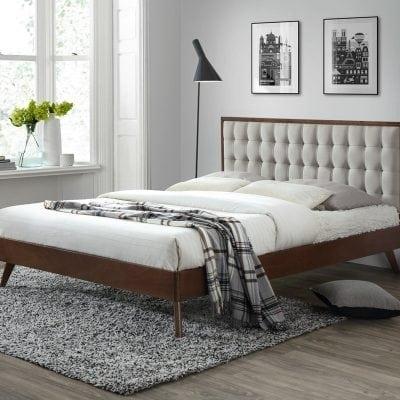 Tempat Tidur Jati Modern