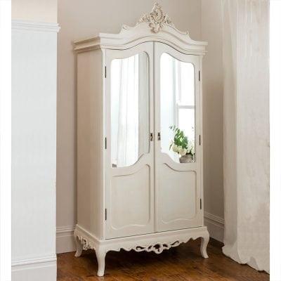 Lemari Pakaian Pintu Kaca Minimalis