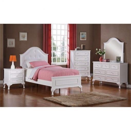 Set Tempat Tidur Anak Perempuan Minimalis Duco