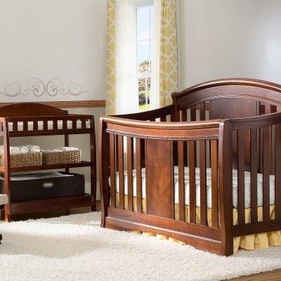 Set Tempat Tidur Bayi Jati