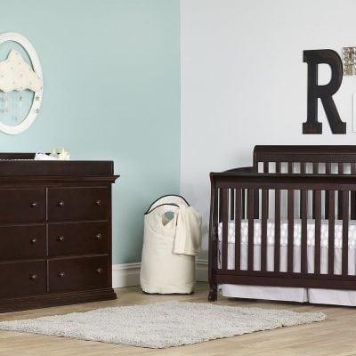 Set Tempat Tidur Bayi Jati Jepara