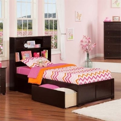 Tempat Tidur Anak Jati Minimalis