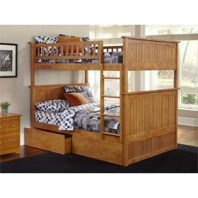 Tempat Tidur Susun Model Laci