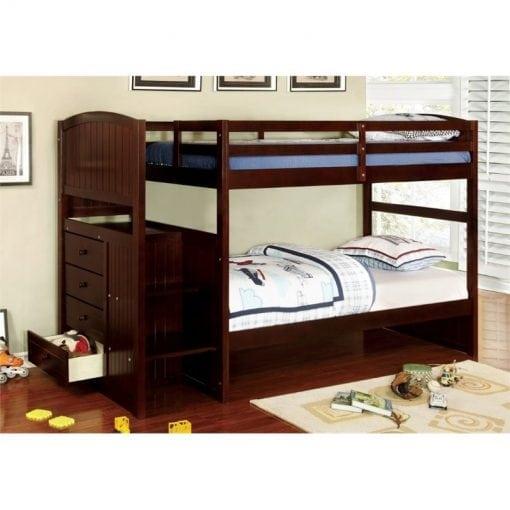 Tempat Tidur Tingkat Jati Key