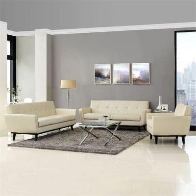 Satu Set Kursi Sofa Tamu
