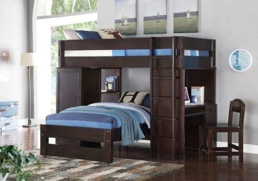 Tempat Tidur Susun Multifungsi