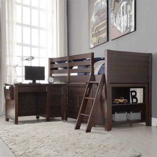 Satu Set Tempat Tidur Bertingkat