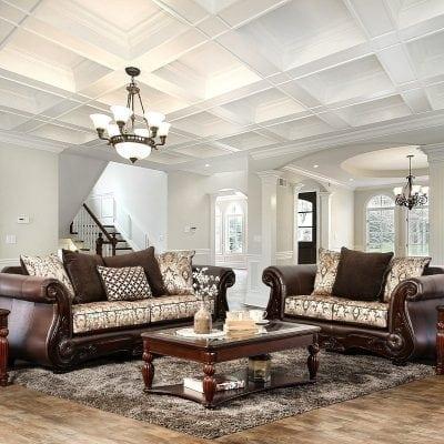 Satu Set Sofa Tamu Elegant