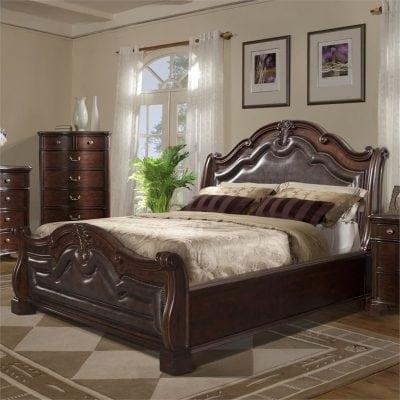 Tempat Tidur Jati Minimalis Elegant