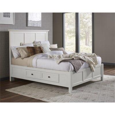 Tempat Tidur Laci Duco Putih