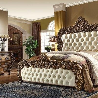 Set Kamar Tidur Mewah Klasik Ukiran