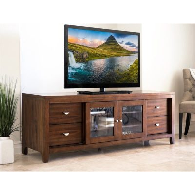 Meja Bufet TV Kayu Jati