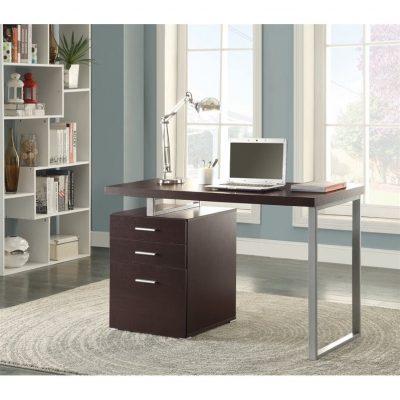 Meja Kantor Minimalis Stainless