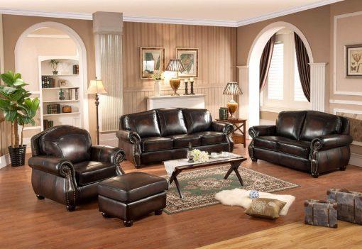 Satu Set Sofa Tamu Elegan