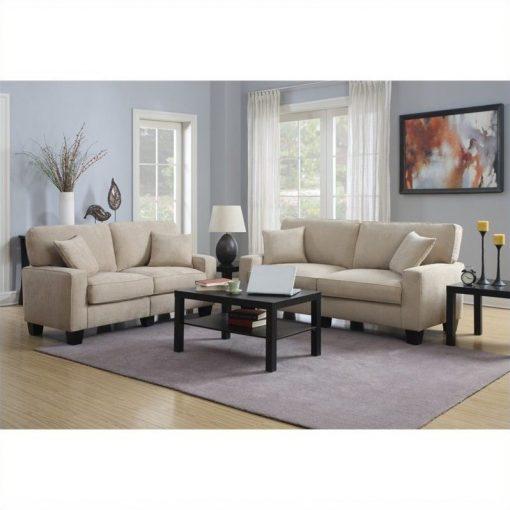 Set Tamu Sofa Elegan Minimalis