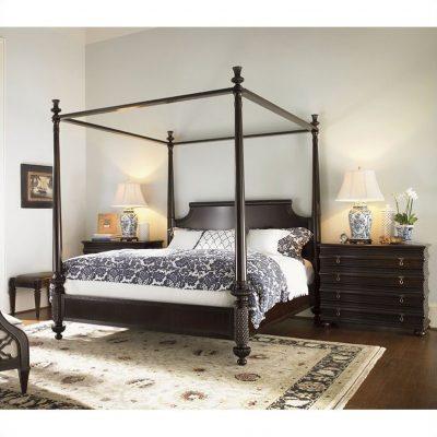 Tempat Tidur Kanopi Minimalis Klasik