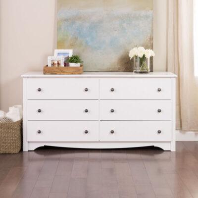 Dresser Minimalis Putih Terbaru